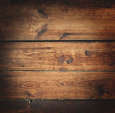 Старая богатая деревянная предпосылка текстуры зерна с узлами Стоковые Фото