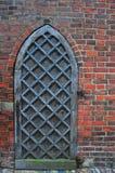 Старая боковая дверь церков Стоковое Изображение