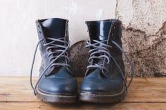 старая ботинок кожаная Стоковое Изображение RF