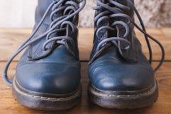 старая ботинок кожаная Стоковые Фото