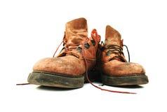 старая ботинок кожаная Стоковая Фотография