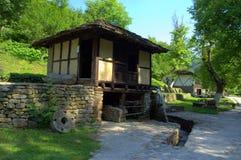 Старая болгарская водяная мельница Стоковое Изображение RF