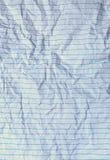 Старая бумага блокнота на столе Стоковое Изображение RF