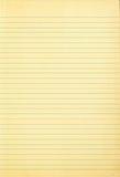 Старая бумага блокнота при сделанная по образцу линия стоковая фотография
