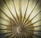Старая бумага зонтика стоковые изображения rf