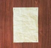 Старая бумага и пакостная предпосылка Стоковая Фотография