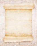 Старая бумага переченя Стоковые Изображения