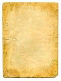 старая бумага страницы Стоковое Изображение