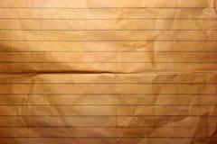 Старая бумага тетради Стоковые Фото