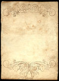 старая бумага 3 Стоковое Фото