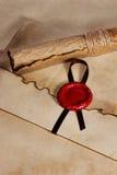 Старая бумага, Стоковые Фотографии RF