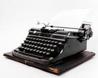 старая бумажная машинка листа Стоковые Изображения