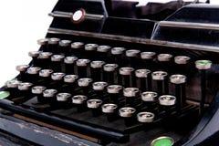 старая бумажная машинка листа Стоковые Фотографии RF