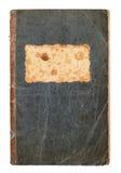 Старая бумажная обложка книги изолированная на белизне Стоковые Изображения