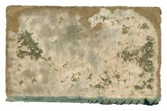 Старая бумажная обложка книги на белизне Стоковое Изображение RF
