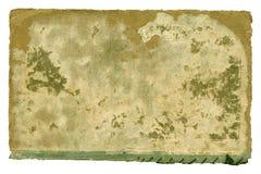 Старая бумажная обложка книги на белизне Стоковое Фото