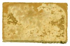 Старая бумажная обложка книги на белизне Стоковые Фотографии RF