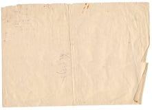 Старая бумажная предпосылка Стоковые Фотографии RF