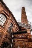 Старая бумажная промышленность в Норвегии Стоковые Фото