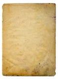 старая бумажная развертка Стоковая Фотография