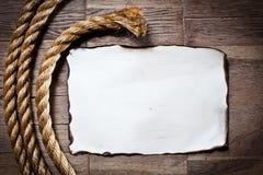 старая бумажная текстура листа деревянная Стоковое Изображение