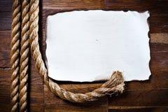 старая бумажная текстура листа деревянная Стоковая Фотография