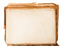 Старая бумажная текстура подробно Стоковые Изображения RF