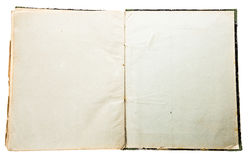 Старая бумажная текстура подробно Стоковое фото RF