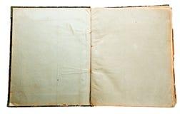 Старая бумажная текстура подробно Стоковые Изображения
