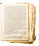Старая бумажная текстура подробно Стоковая Фотография