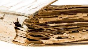 Старая бумажная текстура подробно Стоковое Изображение RF