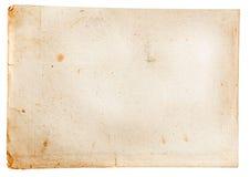 Старая бумажная текстура подробно Стоковая Фотография RF