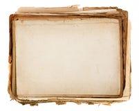 старая бумажная текстура Стоковая Фотография RF