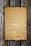старая бумажная древесина текстуры Стоковое Фото