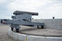 Старая великобританская артиллерия загрузки намордника стоковые фото
