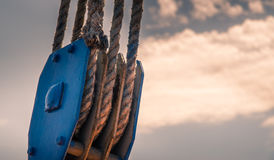 старая веревочка Стоковые Фотографии RF