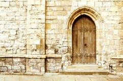 старая двери готская Стоковая Фотография RF