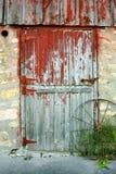 Старая дверь амбара Стоковая Фотография