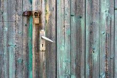 Старая дверь амбара Стоковые Фото