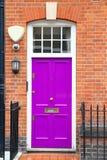 Старая дверь в Лондоне Стоковые Изображения RF