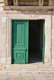 Старая дверь в Hvar, Хорватии Стоковое Изображение