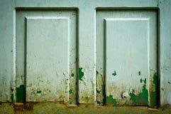 Старая дверь, деревянная предпосылка текстуры с естественной картиной Стоковое Фото