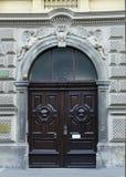 Старая дверь. Стоковая Фотография