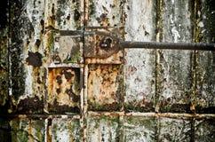 Старая дверь Стоковое фото RF