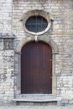 Старая дверь, Lier, Бельгия Стоковое Фото