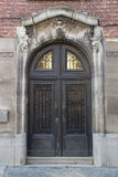 Старая дверь, Lier, Бельгия Стоковое Изображение