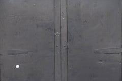 Старая дверь metall Стоковые Изображения RF