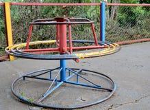 Старая Весел-Идти-круглая игрушка Стоковое Фото