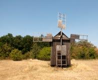 Старая ветрянка в музее Pirogovo Стоковая Фотография RF