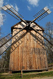 старая ветрянка деревянная Стоковая Фотография RF